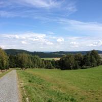 Cesta Buchťák - Daňovice.