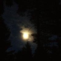 Měsíc nad Zubřím.