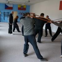 Tréninkové metody a aplikace s mečem