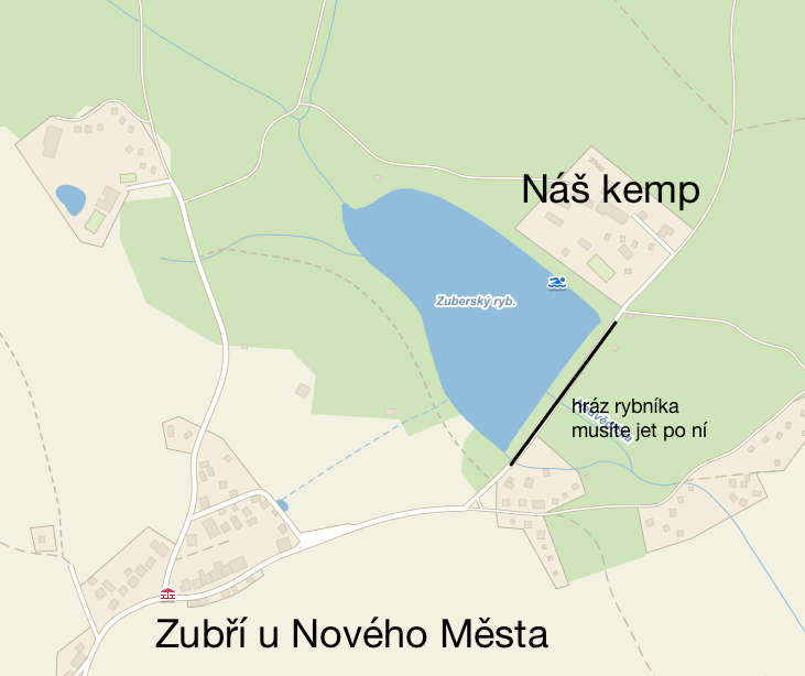 Zubří_mapa